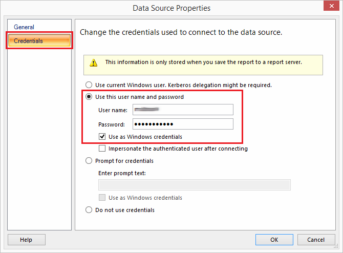 Use a SharePoint List as a Data Source in a SSRS Report